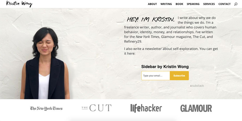 50 of the Best Personal Website and Portfolio Examples in 2020