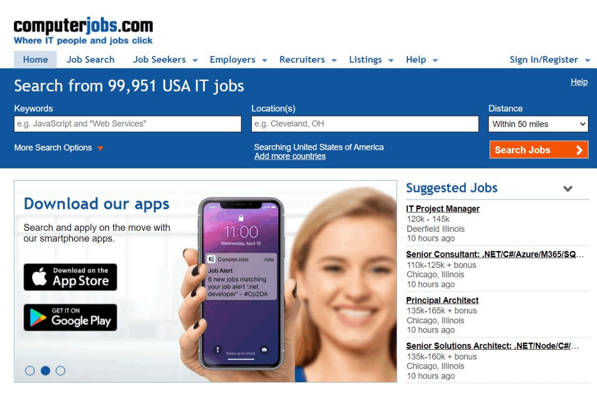 Learn How Search for a Job with ComputerJobs