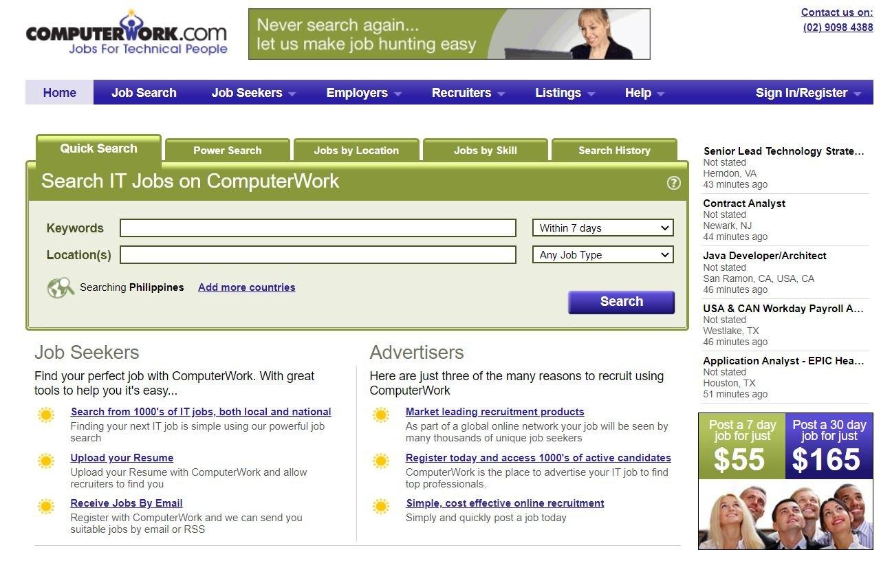 ComputerWork - How To Find A Job
