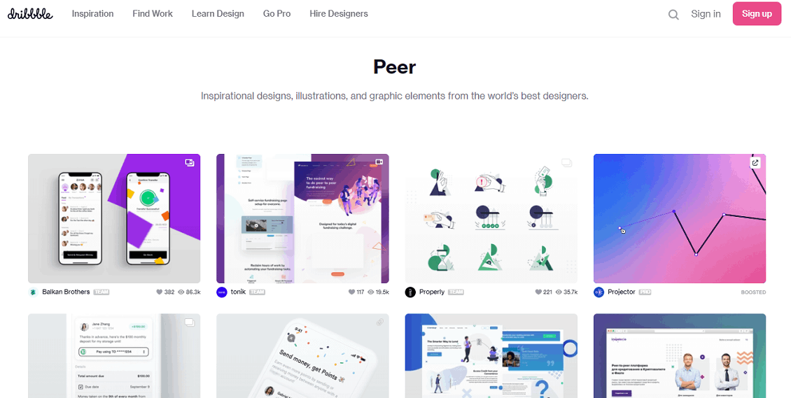 Dribbble - See How To Find Remote Jobs